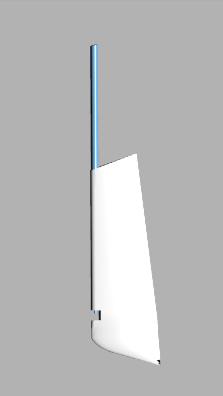 Comar Comet 910 rudder