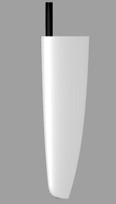 Dobroth 41 rudder rendering