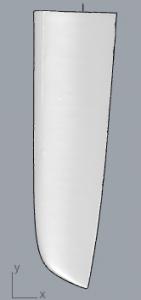 J100 Rudder Rendering