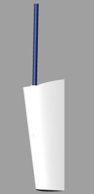 Lindenberg 26 rudder rendering