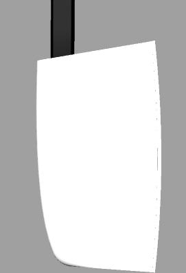 Simpson 12.2 catamaran rudders